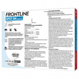 Spot On Chien Frontline 40-60 kg FRONTLINE  Pipettes