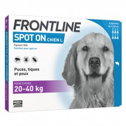 Spot On Chien Frontline 20-40 kg FRONTLINE 3661103037644 Pipettes