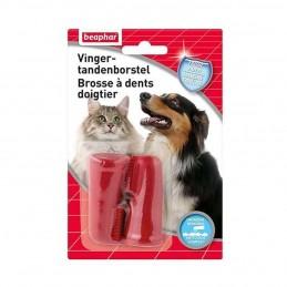 Brosse à dents doigtier pour chien & chat Beaphar BEAPHAR 8711231136605 Hygiène bucco-dentaire