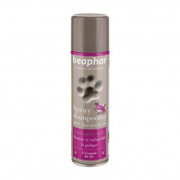 Spray shampooing sec pour chien & chat Beaphar BEAPHAR 8711231130269 Shampooings
