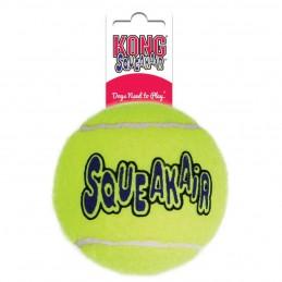 Balle de tennis Kong Squeakair Large KONG 035585775579 Jouets Kong