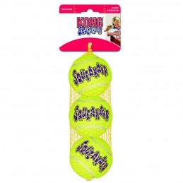Balle de tennis Kong Squeakair Medium KONG 035585775203 Jouets Kong