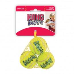 Balle de tennis Kong Squeakair X-Small KONG 035585775180 Jouets Kong