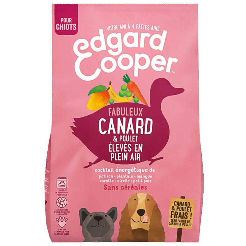 Croquettes Canard Edgard Cooper EDGARD COOPER  Croquettes Edgard Cooper