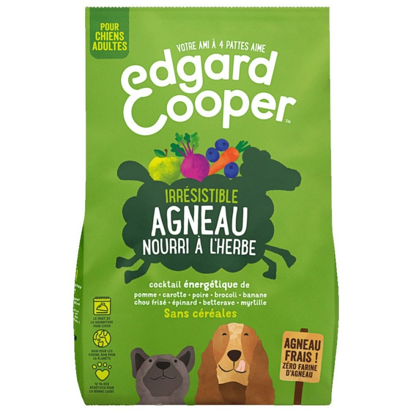 Croquettes Agneau Edgard Cooper EDGARD COOPER  Croquettes Edgard Cooper