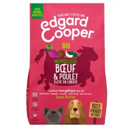Croquettes Boeuf & Poulet Edgard Cooper EDGARD COOPER  Croquettes Edgard Cooper