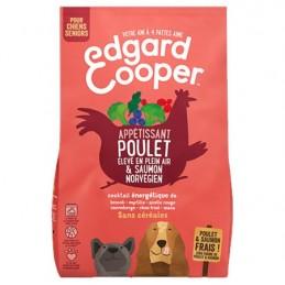 Croquettes Poulet & Saumon Edgard Cooper EDGARD COOPER  Croquettes Edgard Cooper