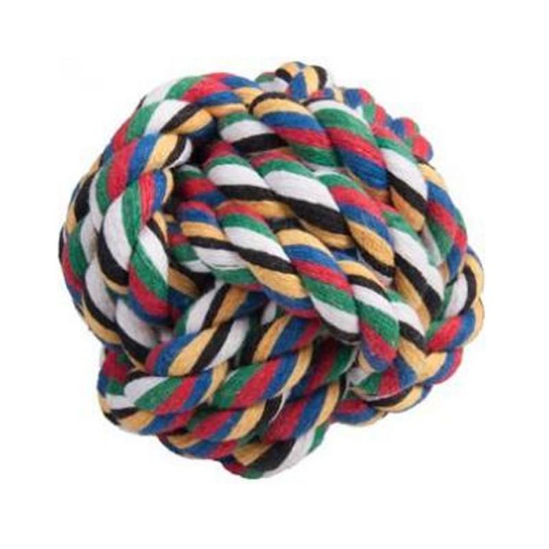 Jouet Boule à noeuds Flamingo  5400274804109 Cordes, jouets à mordre