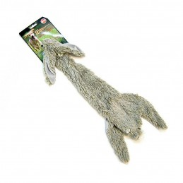 Peluche sonore Skinneeez Plush Rabbit AGROBIOTHERS 077234053669 Peluches