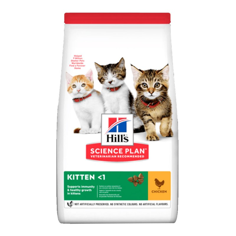 Croquettes Hill's Kitten Poulet  HILL'S  Croquettes Hill's