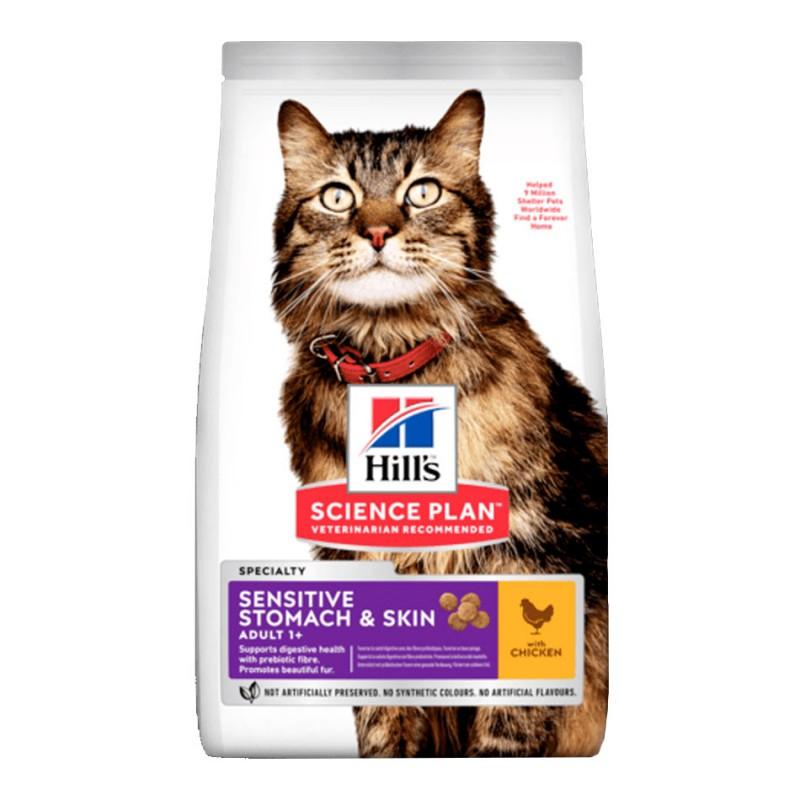 Croquettes Hill's Sensitive Stomach & Skin Poulet  HILL'S  Croquettes Hill's