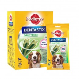 Bâtonnets Pedigree DentaStix Daily Fresh Medium