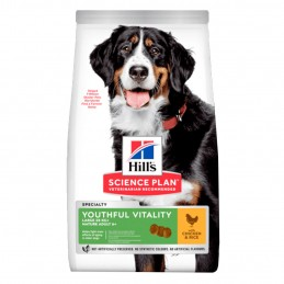 Croquettes Hill's Large breed 5+ Youthful Vitality Poulet 12 kg HILL'S 052742025254 Croquettes Hill's