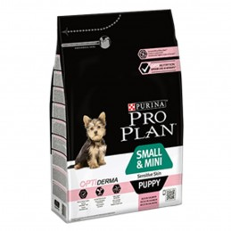 Pro Plan Small & Mini Puppy Sensitive Skin Saumon 3kg PRO PLAN 7613035123809 Croquettes ProPlan