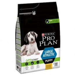 Pro Plan Large Puppy Athletic 3kg PRO PLAN 7613035114746 Croquettes ProPlan