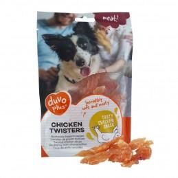 Duvo+ Twisters de poulet DUVO+ 5414365341213 Friandises