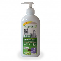 Shampooing antiparasitaire Poils longs Actiplant ACTIPLANT 3760118012544 Shampooings