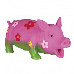 Jouet cochon 'fleurs' en latex Trixie TRIXIE 4011905351858 Jouets à mordre