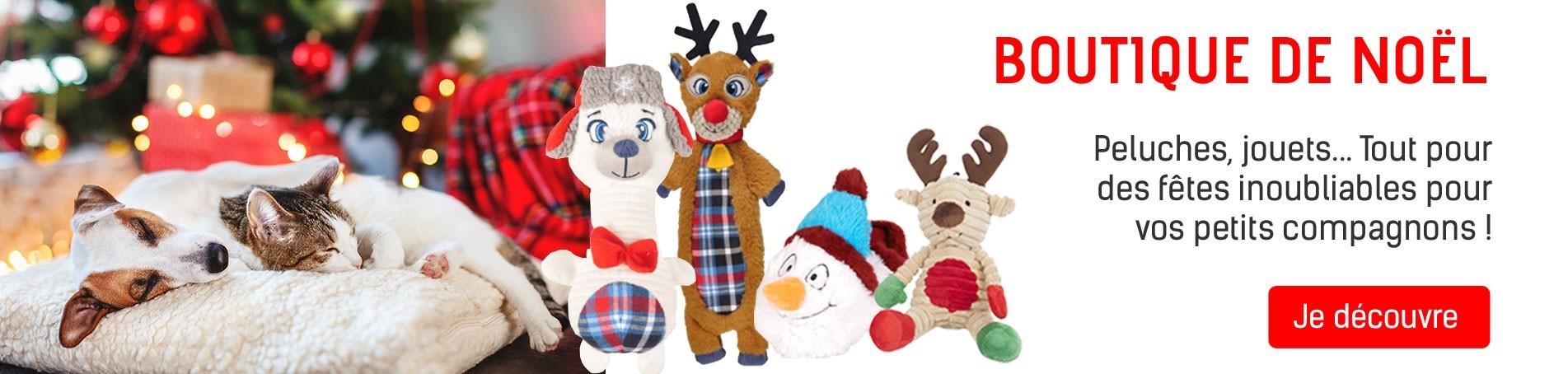 Boutique de Noël : des articles pour faire plaisirs à vos chiens, chats, oiseaux, rongeurs...