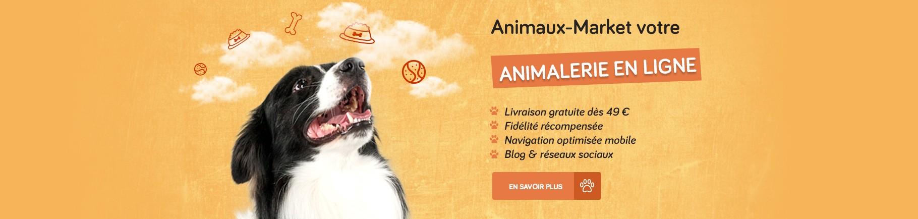 Animaux-Market, votre animalerie en ligne